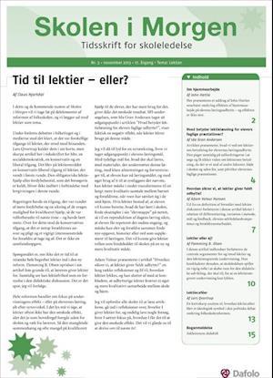 Skolen i Morgen. Nr. 3. November 2013. 17. årgang. Tema: Lektier