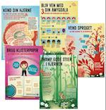 Plakater til Hjernesmart pædagogik