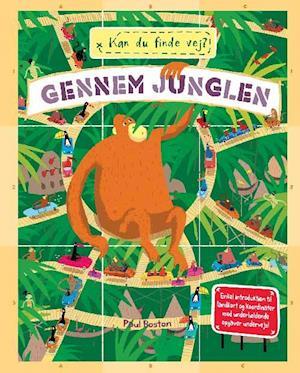 Bog, indbundet Kan du finde vej? - gennem junglen af Joanna Mclnerney