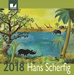 Hans Scherfig kalender 2018