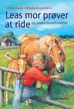 Leas mor prøver at ride og andre hestehistorier