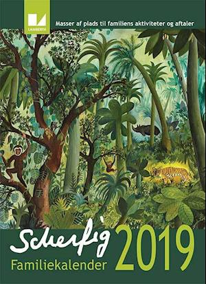 Hans Scherfig Familiekalender 2019