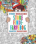 Find Holgers store finde-farvebog af Martin Handford