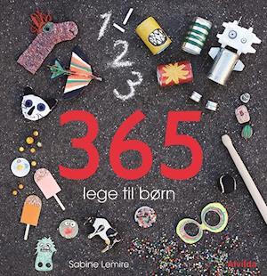 Bog indbundet 365 lege til børn af Sabine Lemire