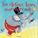 En elefant kom marcherende