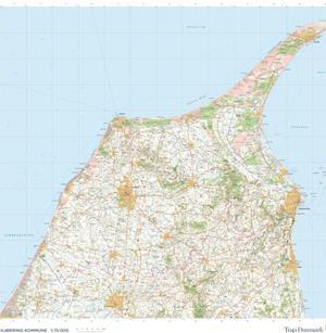 Trap Danmark: Kort over Hjørring Kommune