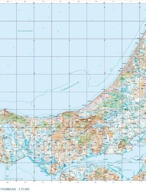 Trap Danmark: Kort over Jammerbugt Kommune