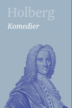 Bog, indbundet Holberg- Komedier 1 af Ludvig Holberg