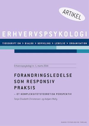 Forandringsledese som responsiv praksis af Asbjørn Molly Tanja Christensen