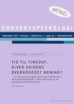 Tid til timeout: Giver evidens overhovedet mening? af Eva Damsgaard