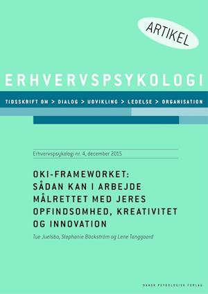 OKI-Frameworket af Lene Tanggaard, Tue Juelsbo, Stephanie Bäckström