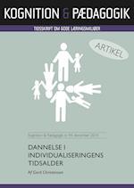 Dannelse i individualiseringens tidsalder (Kognition Pædagogik, nr. 94)