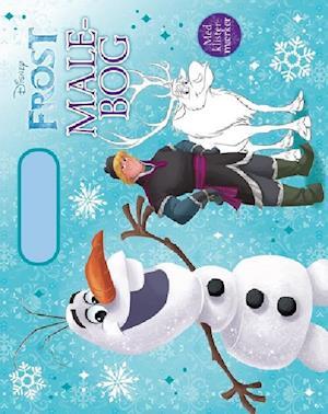 Bog, paperback Disney malebog med håndtag Olaf
