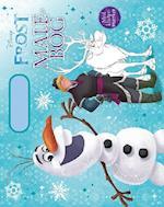 Disney malebog med håndtag Olaf (Disney Frost)