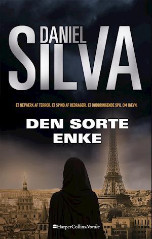 Bog, paperback Den sorte enke af Daniel Silva