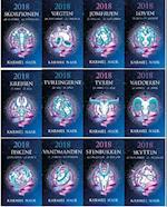 Horoskop 1-12 stjernetegn 2018 i salgsdisplay
