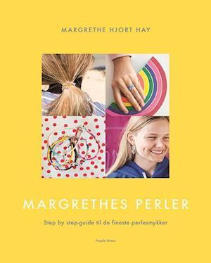 Bog, indbundet Margrethes perler af Margrethe Hjort Hay