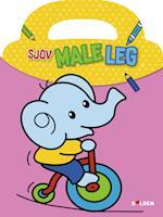 Sjov male-leg: Elefant