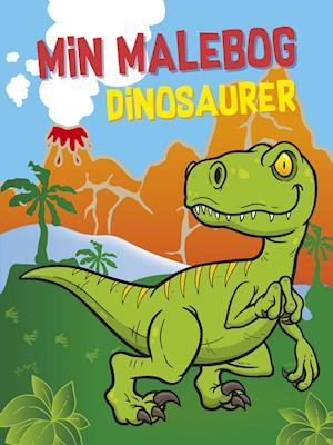 Min malebog: Dinosaurer