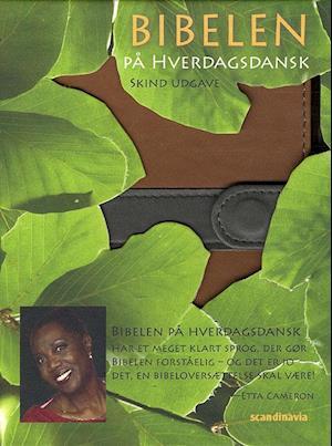 Bog, ukendt format Bibelen på hverdagsdansk, lomme, brunt PU skind