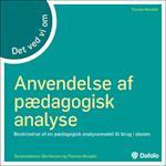 Det ved vi om anvendelse af pædagogisk analyse af Thomas Nordahl, Ole Hansen