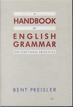 A handbook of English grammar on functional principles