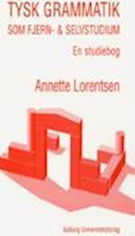 Tysk grammatik som fjern- og selvstudium - en studiebog