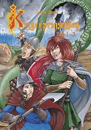 Bog hardback Krigerprinsessen af Josefine Ottesen