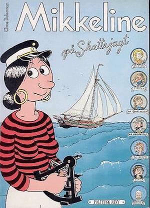 Bog indbundet Mikkeline på skattejagt af Claus Deleuran