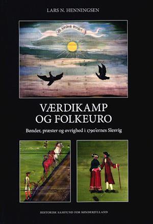 Bog, indbundet Værdikamp og folkeuro af Lars N. Henningsen