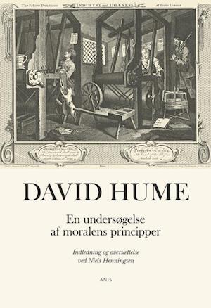 Bog, hæftet En undersøgelse af moralens principper af David Hume