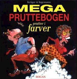 Bog hæftet Mega pruttebogen af Henrik Krüger Morten Ingemann