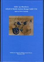 Adels- og våbenbreve udstedt af danske (unions-)konger indtil 1536