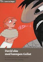 David slås med kæmpen Goliat (Læse let bøger)