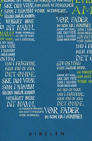 Konfirmandbibel, blå udgave