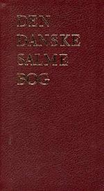 Den danske salmebog - Luksus rød, tryk på ryg/front