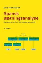 Spansk sætningsanalyse (University of Southern Denmark studies in linguistics)