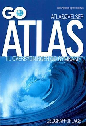 Bog, hæftet GO atlas til overbygningen og gymnasiet af Niels Kjeldsen
