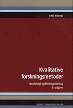 Kvalitative forskningsmetoder i psykologi og beslægtede fag