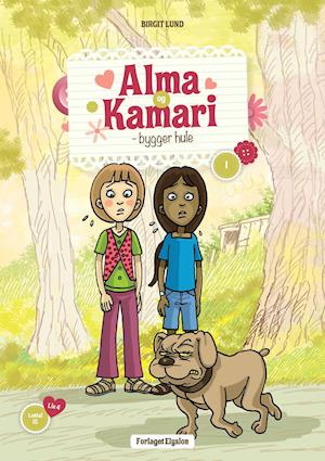 Alma og Kamari bygger hule