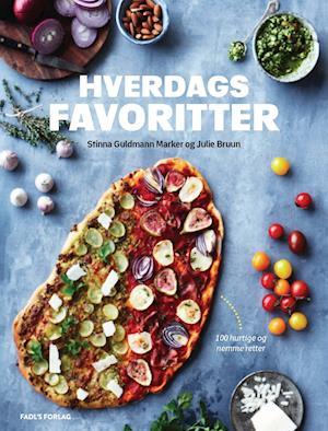 Bog, indbundet Hverdagsfavoritter af Julie Bruun, Stinna Guldmann Marker