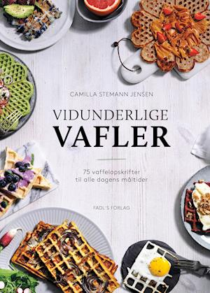 Bog, indbundet Vidunderlige vafler af Camilla Stemann Jensen