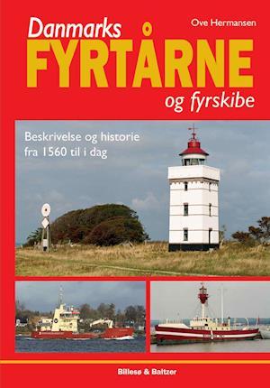 Bog, indbundet Danmarks fyrtårne og fyrskibe af Ove Hermansen