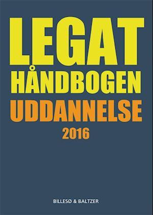 Bog, hæftet Legathåndbogen uddannelse af Per Billesø, Berit Jylling