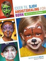 Ideer til sjov ansigtsmaling for børn af Brian, Nick Wolfe