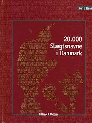 20.000 slægtsnavne i Danmark af Per Billesø