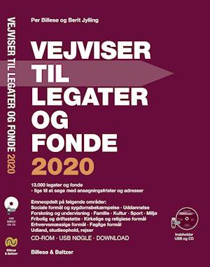 Vejviser til legater og fonde 2020 CD-ROM og USB