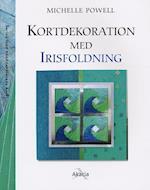 Kortdekoration med irisfoldning (Serien med hånddekorerede kort)