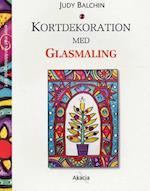 Kortdekoration med glasmaling (Serien med hånddekorerede kort)
