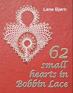 62 Small Hearts in Bobbin Lace